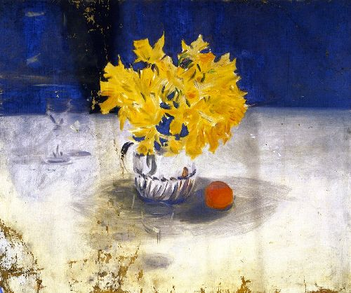 John-Singer-Sargent-xx-Daffodils-in-a-Vase-xx-Fogg-Museum-of-Art