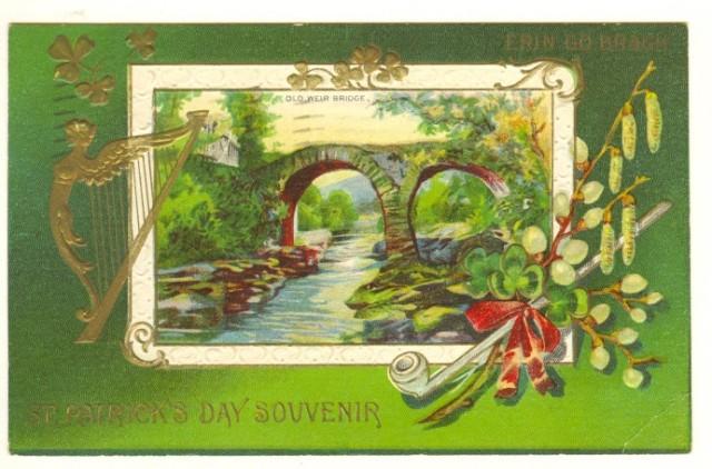 PostcardStPatricksDaySouvinir1912