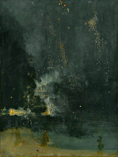 Whistler, Nocturne in Black and Gold, 1875