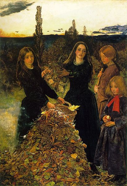 Autumn Leaves, by John Everett Millais (1856)