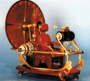 Model of H. G. Wells' Time Sled