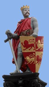 Statue of Llewelyn the Great