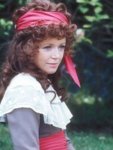 Angharad Rees as Demelza in the Poldark miniseries