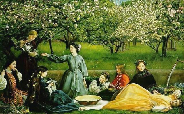 Apple_Blossoms_by_John_Everett_Millais