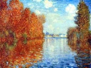Autumn at Argenteuil, Claude Monet (1873)
